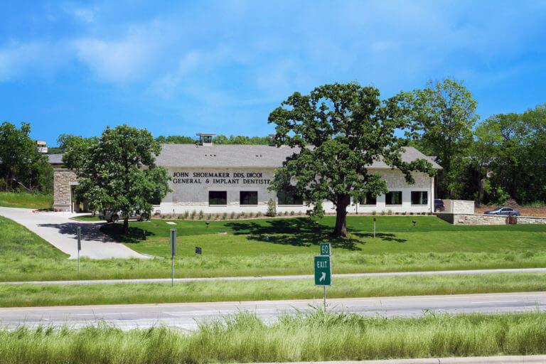 Dr. John Shoemaker dental office building